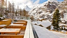 Cervo Mountain Resort in Zermatt is a boutique hotel with spectacular Matterhorn views and Scott Dunn's resort team is on hand to help during your stay. Unique Hotels, Southern Europe, Zermatt, Mountain Resort, Luxury Holidays, Winter White, A Boutique, Places To Travel, Switzerland