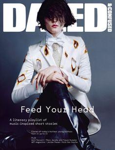 Zenia Sevastyanova Smolders in Giles for Dazed & Confused's July 2012 Cover