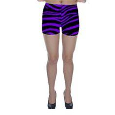 Purple Zebra Skinny Shorts by ArtistRoseanneJones Purple Zebra, Skinny Shorts, Gym Shorts Womens, Design, Fashion, Moda, Fashion Styles, Fashion Illustrations