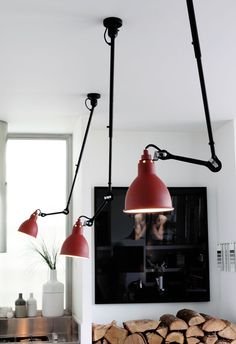 industrial lighting- Red