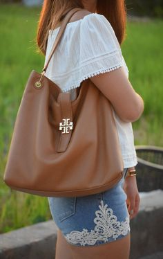 {Sun Dazy} Tory Burch Hobo Bag