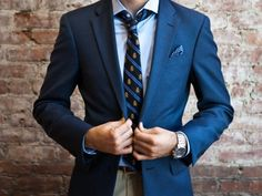 Nothing sexier than a man in a perfectly tailored suit ;)