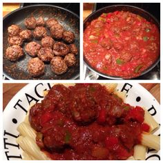 Homemade meatballs. Super yummy and super easy! All free on extra easy too :) Slimming World!