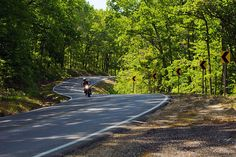 Wind Therapy:  Riding the Ozarks