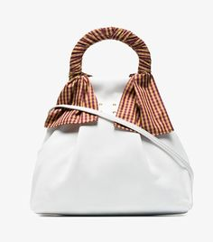 325569a3b Trademark White Hazel Shopper Nappa Leather Shoulder Bag My Bags, Leather  Shoulder Bag, Bucket
