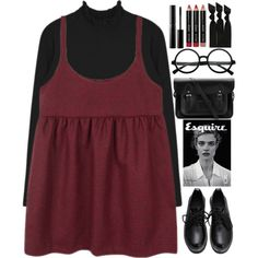 I found the place to rest my head by annaclaraalvez on Polyvore featuring polyvore moda style The Cambridge Satchel Company Emi-Jay Bobbi Brown Cosmetics Surratt women's clothing women's fashion women female woman misses juniors