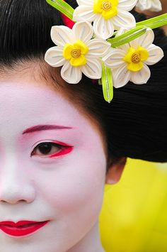 Geisha - St. Patrick's Day Parade, London by 5ERG10, via Flickr