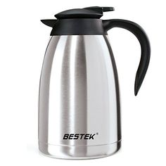 BESTEK 50ounce Insulated Double Wall Stainless Steel Vacuum Thermal Carafe >>> Read more  at the image link.Note:It is affiliate link to Amazon.