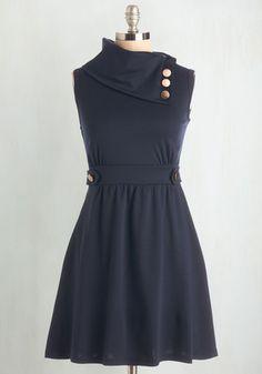 Coach Tour Dress in Bleu | Mod Retro Vintage Dresses | ModCloth.com