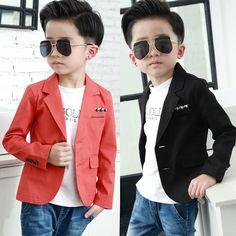 Los niños se visten Los Niños Vestido de Traje Chaqueta pequeño traje masculino…