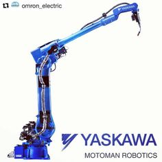 #Repost @omron_electric with @repostapp  روبات جوشکاری جدید یاسکاوا با قابلیت های ویژه  New MA3120 Welding Robot by Yaskawa  The new Motoman MA3120 arc welding robot features an extra-long reach arm that reduces the need for tracks. It is the longest robot arm designed for arc welding. Available in floor- wall- or ceiling-mounted configurations and ideal for multiple robot layouts the MA3120 has been improved over the previous MA3100 model robot with twice the payload longer reach and…