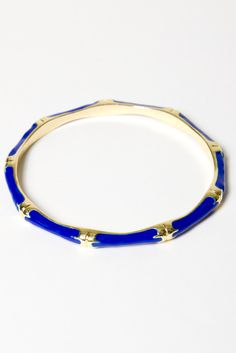 Enamel Bamboo Bangle