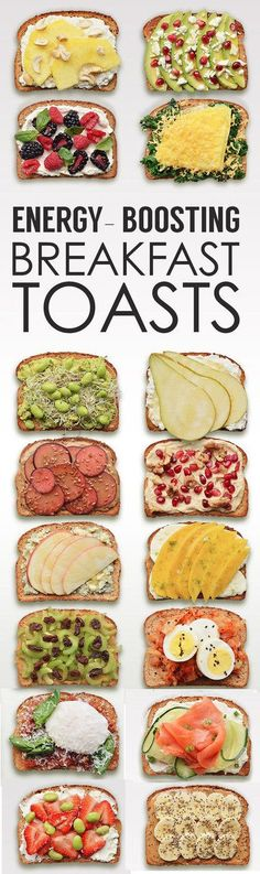 Energy-Boosting Breakfast Toasts