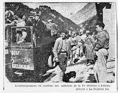 Spain - 1936-39. - GC - retirada de la 43 division - Evacuación / Refugiados