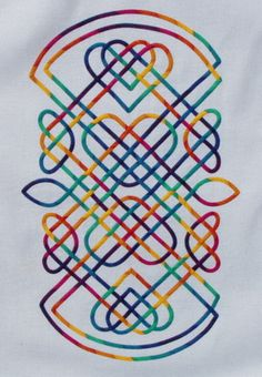 Penner Penner Myrum wrote this: My Celtic knot Celtic Symbols, Celtic Art, Celtic Knots, Applique Designs, Quilting Designs, Celtic Quilt, Celtic Knot Designs, Celtic Patterns, Applique Quilts