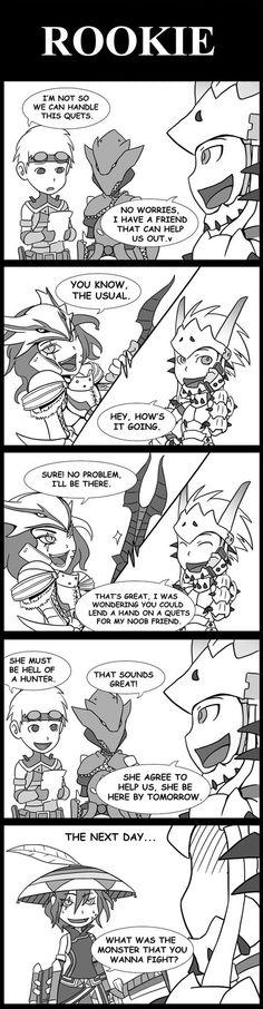 Monster Hunter: Rookie by SilentGPanda