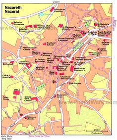Map of the Nazareth