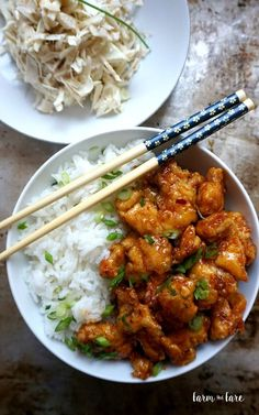 Spicy Korean Chicken — Farm and FareYou can find Korean food and more on our website.Spicy Korean Chicken — Farm and Fare Spicy Korean Chicken, Asian Chicken, Gochujang Chicken, Chicken Rice, Asian Recipes, Healthy Recipes, Spicy Food Recipes, Healthy Food, Sushi Recipes