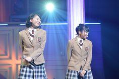 左から磯野莉音、大賀咲希。