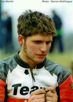 A young Guy Martin