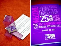 YLC Logo and Gala Invitation Design | Ciera Design | Brand Identity   Graphic Design