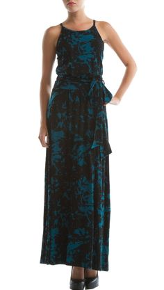 Luna Dress Print, Ocean Splash by Eco Skin >> This dress is really beautiful, love the colors and style! $68, super price too!