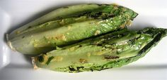 This Grilled Romaine Salad takes less than 10 minutes to make but is something unique for a summer barbecue. Great for entertaining a large crowd.