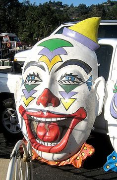 Clowns are horrifying... How this concept caught on is baffling to me...