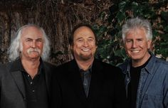 crosby, stills and nash ~ konocti harbor in kelseyville, california and shoreline amphitheatre in mt. view, california