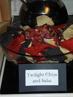 Twilight chips and salsa