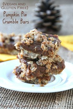 free pumpkin pecan crumb cake gluten free palate free meals and ...