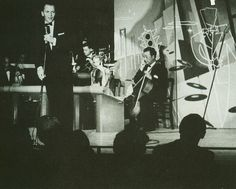 Frank Sinatra, Sands Hotel, Las Vegas, 1950's