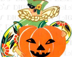 Image result for art deco halloween