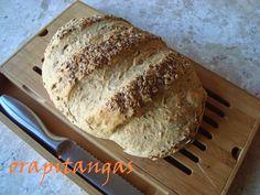 ora, pitangas!!!: pão de grãos