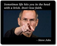 Enjoy Most Inspiring Steve Jobs quotes at Quote academy. In honor of Steve Jobs, the here's a list his most memorable quotes about success in business. Mystic Quotes, Losing Faith, Truth Of Life, Keep The Faith, Reality Check, Steve Jobs, Successful People, Life Lessons, Life Tips