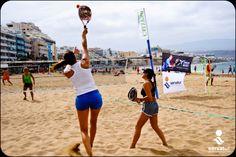 Beach Tennis Tournament. Gran Canaria.