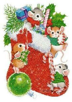 Christmas mice!!