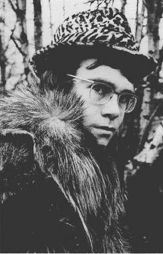 Elton John's first photoshoot, 1968