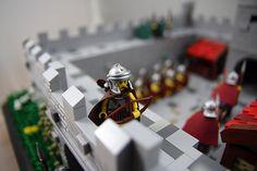 Roman Auxiliary Archers Awesome Lego, Cool Lego, Lego Roman, Hadrian's Wall, Lego Knights, Roman Britain, Lego Castle, Lego Minifigure, Lego Projects