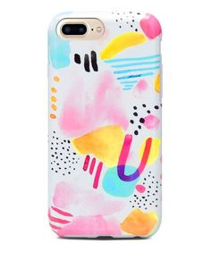 Protect your phone in style with this iPhone case designed with a unique pattern that turns heads every time you take a call. Abstract Watercolor, Iphone Cases, Mary, Apple, Pets, Pattern, Cases, Apple Fruit, Patterns