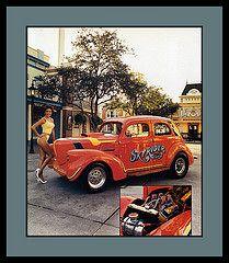 """37 Willis Sedan Show Car, 1985 (Cosmo's ""ART"" Gallery) Tags: sedan automobile babe 1985 willis 1937 customcar showcar vision:text=0658 vision:outdoor=0846"