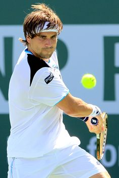 David Ferrer, Indian Wells my Pit Bull when he sinks his teeth into a match.....it's done.