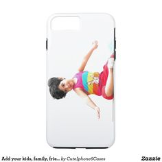 Add your #kids, #family, #friends #photo #iPhone7pluscase Add photo, add/ change image, or/ and add text, customize color that you like We want to make #iPhone6 cases that make you feel special! That will make awesome gifts for you, your friends, family, and anyone. Click https://www.zazzle.com/add_your_kids_family_friends_photo_iphone_7_plus_case-179175849958485651 to get 15% off with code ZAZZMAYFIFTY. See more products on collection…