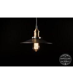 Suspension Vintage à Panier Style Industriel   Pour Ampoule à Filament  Edison #Luminaire #Edison #Ampoule #filament #vintage #rétro #déco #design  #u2026
