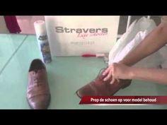 Hoe onderhoud ik mijn leren en suède schoenen? - YouTube
