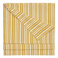 Palermo Stripe Tablecloth Gold - product image