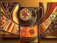 cuadros forrados con telas decorativas - Buscar con Google