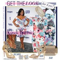 """""""GET THE LOOK for Less: Featuring """"Kandi Burrus"""""""" by enjoyzworld on Polyvore"""