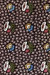 Floral textile design. Mulhouse France, 19th century