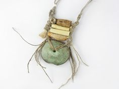 Artisan Statement Necklace / Wall hanging by greybirdstudio, £175.00